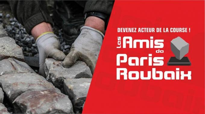 Tout un pavé avec Les Amis de Paris-Roubaix
