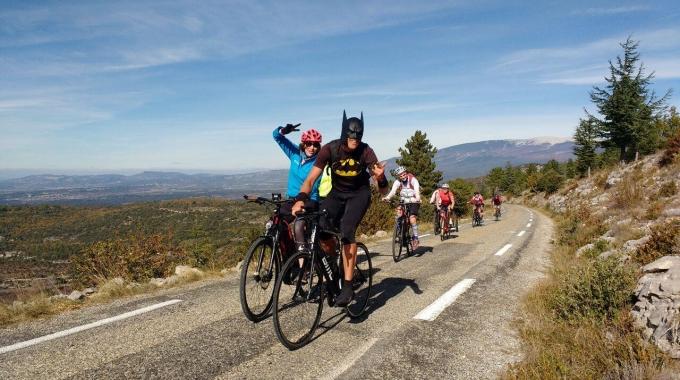 Patrick Denis est «Le Batman de Provence»
