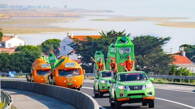 Caravane du Tour de France : ils vous ont ravitaillé avec Pressade