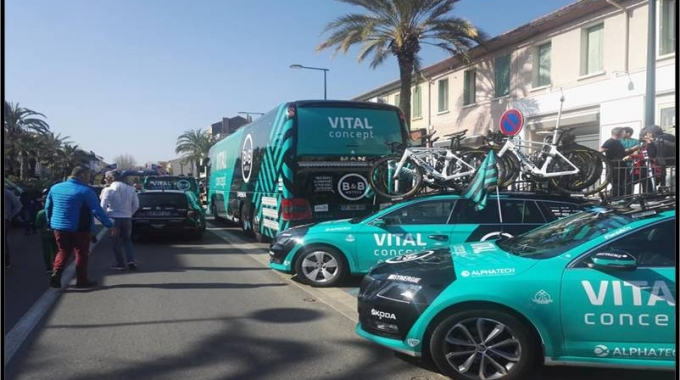 Insolite : en immersion avec les coureurs du Vital Concept – B&B Hotels
